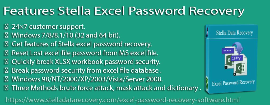 Free Excel Password Unlocker Software