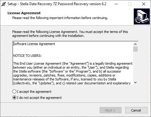 recover 7z password