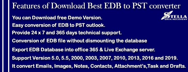 Download Best EDB to PST converter - Exchange Server Recovery