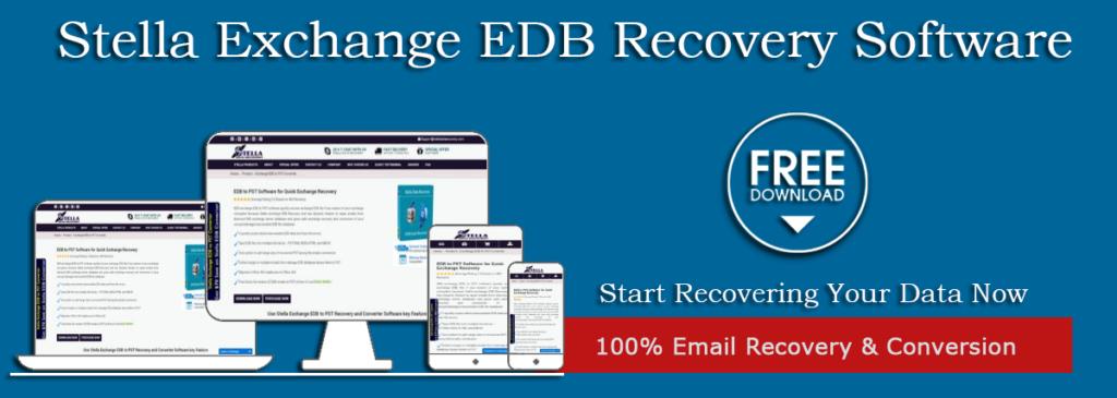 Repair damage EDB file - Stella Data Recovery & convert EDB File