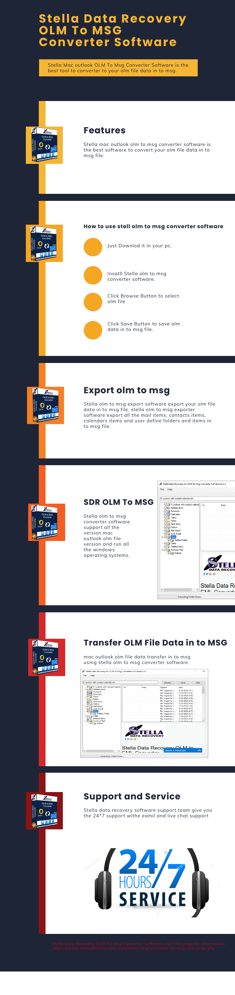 OLM To MSG Converter Software
